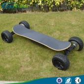 China EcoRider boosted four wheels electric skateboard with CE factory
