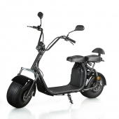 China EcOrider Electric scooter 60V 1200W Harley Electric citycoco-Fabrik