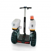China Ecorider 4000W Self-Balancing Electric Smart Chariot Scooter Off-Road with Big Tires Wheel factory