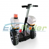 China Ecorider off road golf two wheel standing electric chariot 72v 4000W electric scooter-Fabrik