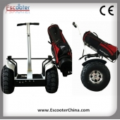 China Elektrische golfkar of Golf Scooter Elektrische Scooter met beugel Bag Golf 72V ESOI L2 fabriek