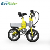 China Fat Tyre City Road Electric Bicycle Folding Ebike with 350W Motor for Wholesale factory