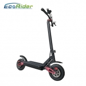 China Folded Two Wheel 60V 10inch Dual Motor Electric Scooter With Anti-slip Handle Handle factory