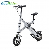 China Folding Electric Bike,2 Wheel Electric Scooter,E-bike EcoRider E6 factory