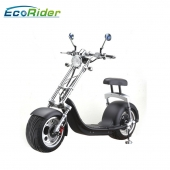 China Harley Style Big Wheels Lithium Battery Citycoco Electric Scooter factory