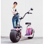 China Harley elektrische scooter 2017 originele fabriek EEG certificering citycoco fabriek