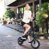 China Hot sell China 2016 fashion electric bike running with a powerful Brushless Motor factory
