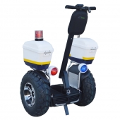 China Newest design brushless 4000W electric scooter police model double battery 1266Wh 72V segway factory