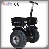 China Segway Style Two Wheel Self Balancing Electric Chariot Scooter for Police Patrol factory