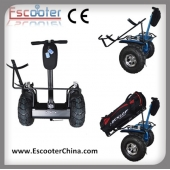 La fábrica de China Dos Ruedas Golf Scooter Equilibrio Golf Cart Scooter eléctrico con Golf Soporte 72V Esoi L2