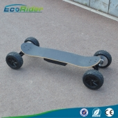 China Wholesale High Quality Ecorider Off Road Four Wheels Electric Skateboard with Bluetooth factory