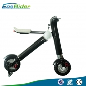 中国new products 2017 EcoRider lithium battery folding e bike/folding electric bike/mini bicycle/foldable ebike 500W工厂