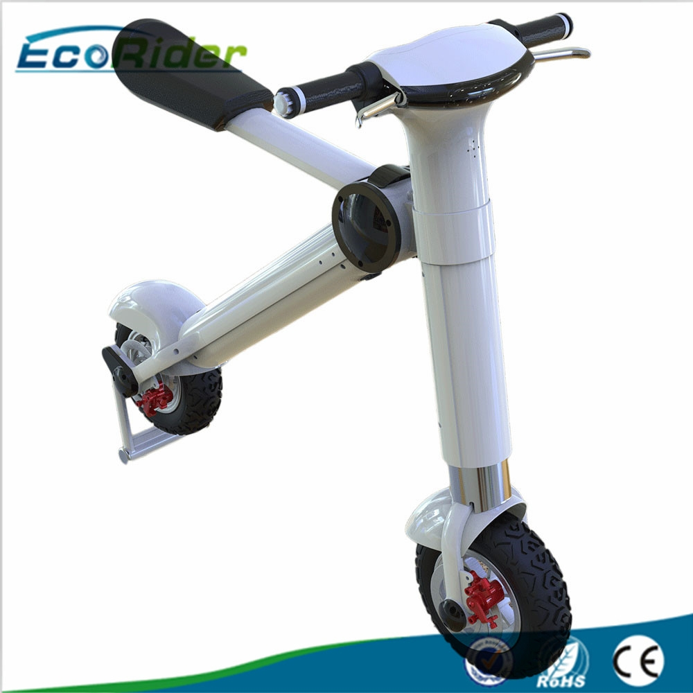China manufacturer 48v 500w foldable electric bike for for Fold up scooters motorized