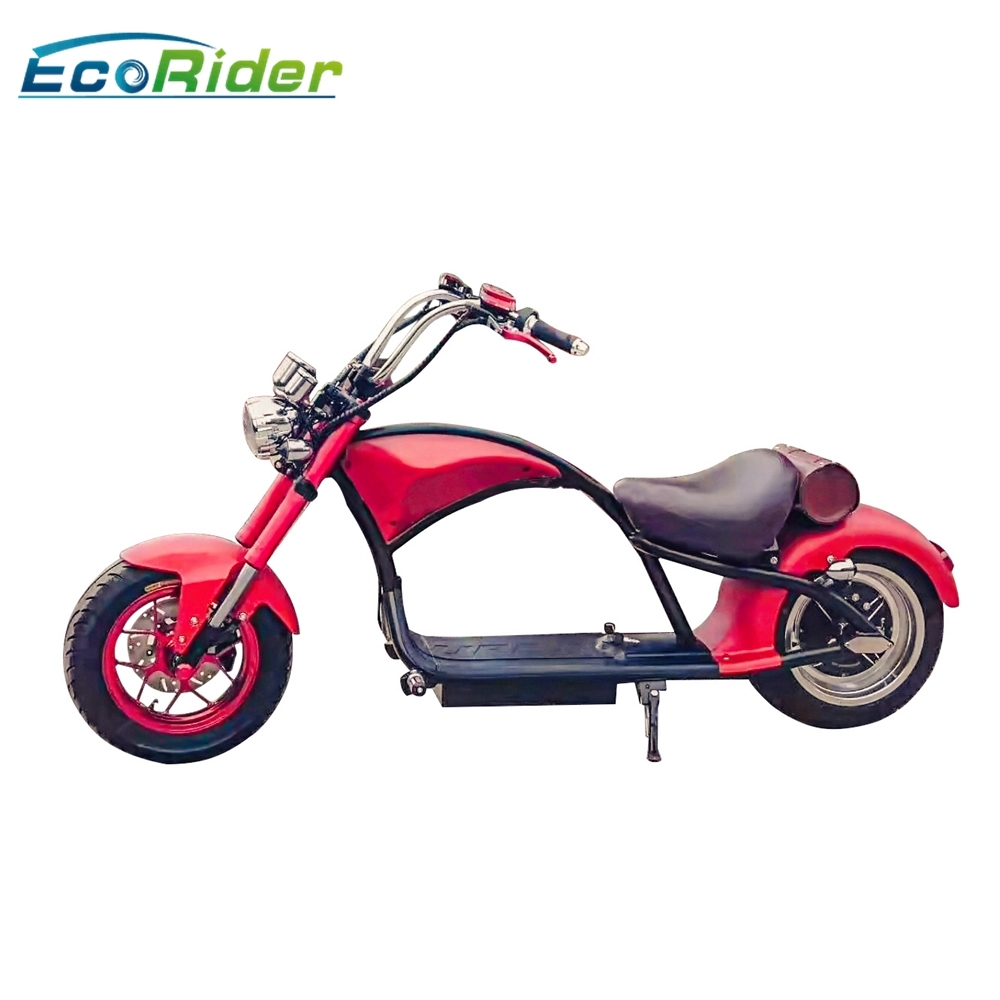 60km H Disc Brake Electric Scooter For Adults Factory Citycoco With Front And Rear Suspension Shock