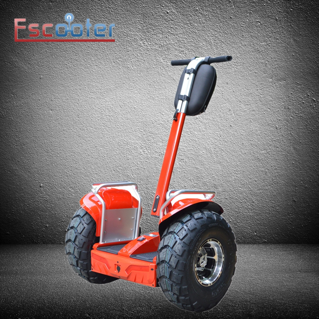 Ce Marked New Design Off Road 2 Wheel Stand Up Scooter