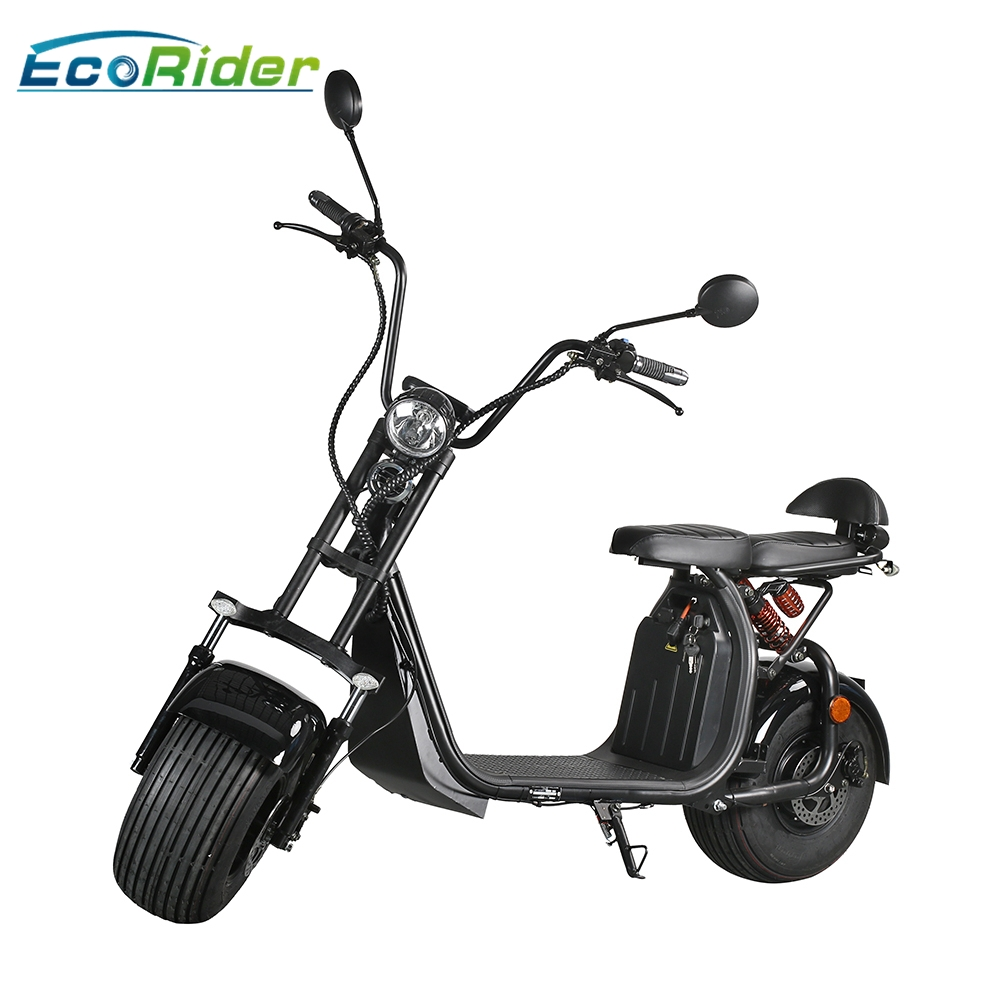 ecorider es057 eec harley electric scooter with removable. Black Bedroom Furniture Sets. Home Design Ideas