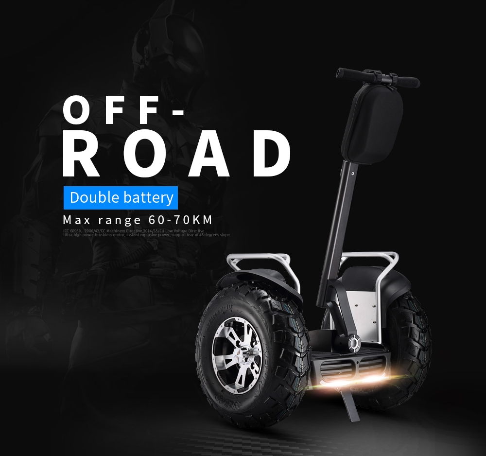Stand Up Electric Scooter >> EcoRider Non Road Vehicle Electric Chariot, Two Wheels Self Balancing Electric Scooter