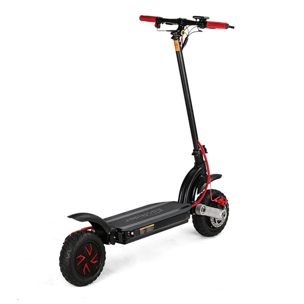 ecorider off road folding electric scooter 10inch dual. Black Bedroom Furniture Sets. Home Design Ideas
