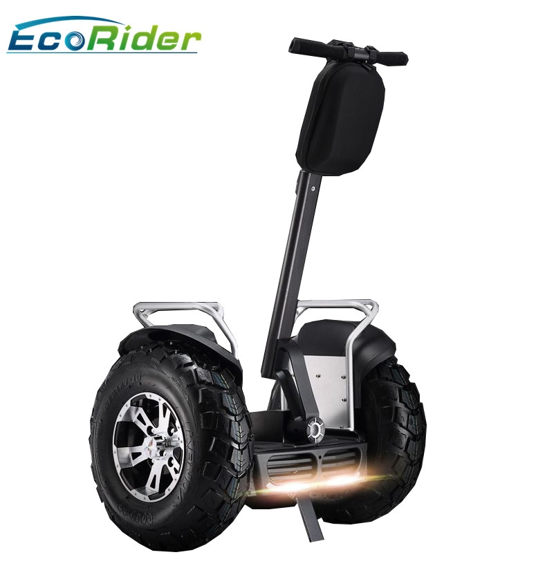 Ecorider two wheels stand up electric scooter self for Stand on scooters with motor