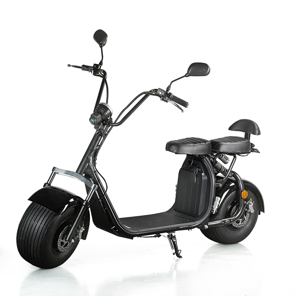 ecorider gros pneu lectrique scooter 60v 1200w harley electric citycoco. Black Bedroom Furniture Sets. Home Design Ideas