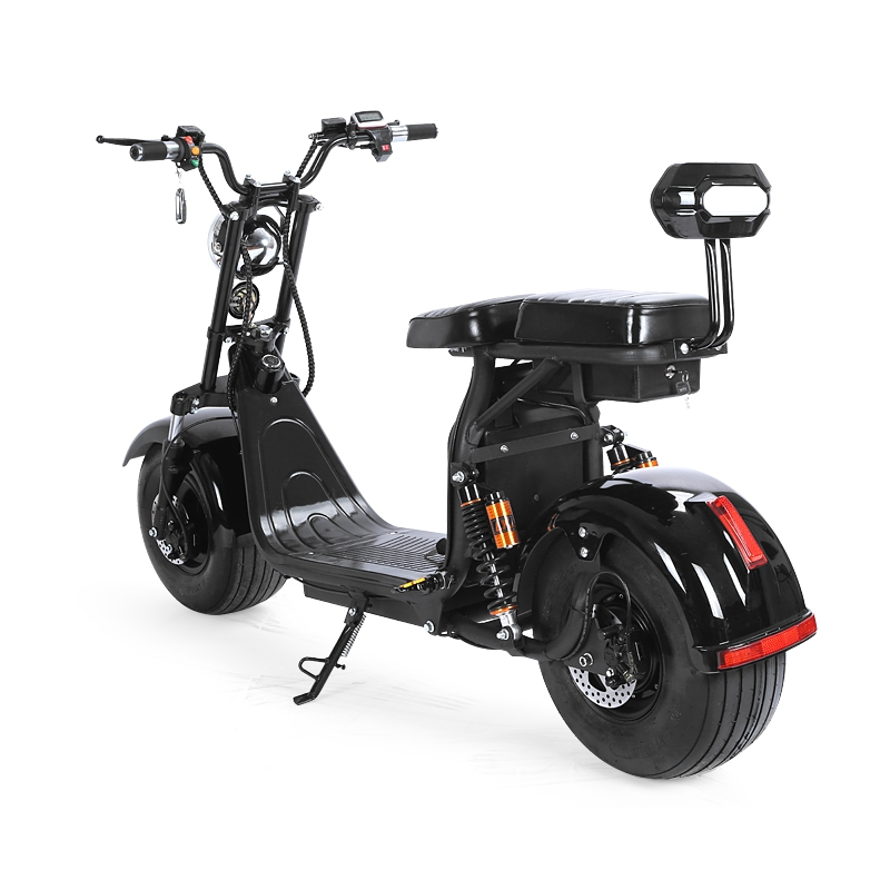 harley scooter with 1500w big motor and double 60v 20ah. Black Bedroom Furniture Sets. Home Design Ideas