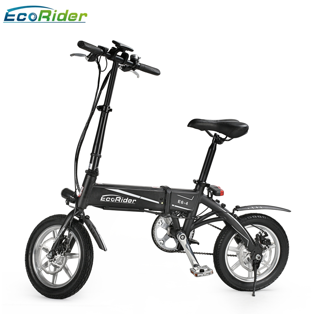 light 36v lithium battery 14 inch two wheel electric bicycle 14inch foldable electric scooter. Black Bedroom Furniture Sets. Home Design Ideas