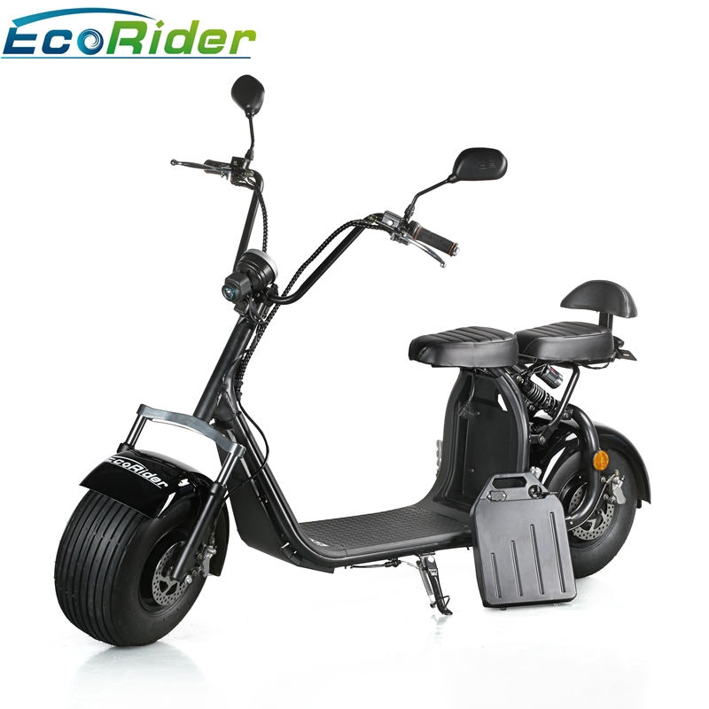 nouveau mod le scooter lectrique de batterie au lithium du scooter 60v 12ah de citycoco de. Black Bedroom Furniture Sets. Home Design Ideas