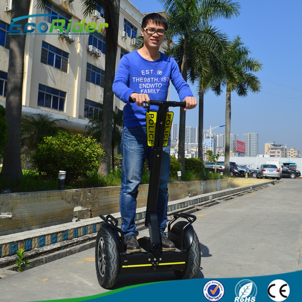 Stand Up Electric Scooter >> Police Use City Segway 72V lithium Battery Self Balancing Electric Scooter with Police Card