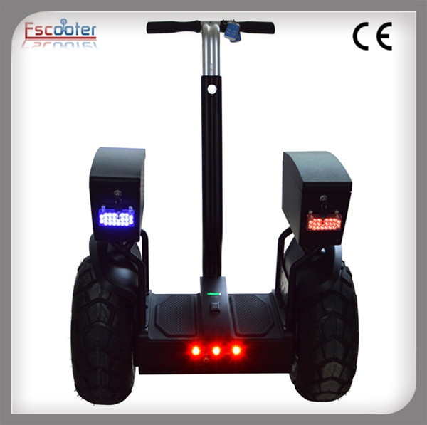Electric Scooter Battery >> Segway Style Two Wheel Self Balancing Electric Chariot Scooter for Police Patrol, View Self ...